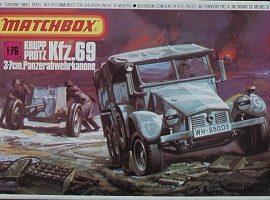 KRUPP PROTZ KFZ.69 3-7 CM PANZERABWEHR KANONE
